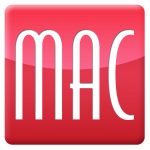 MAC Design graphic design logo button