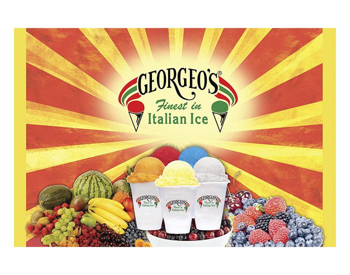 Georgeo's Freezer Wrap Design