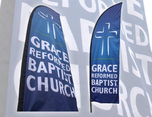 Grace Reformed Baptist Church Outdoor Flag