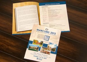 Marcus 2012 Brochure Messiah College print design