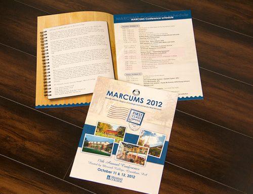 MARCUMS Conference 2012 Brochure Agenda