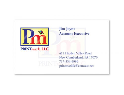 Printmark Business Card Design
