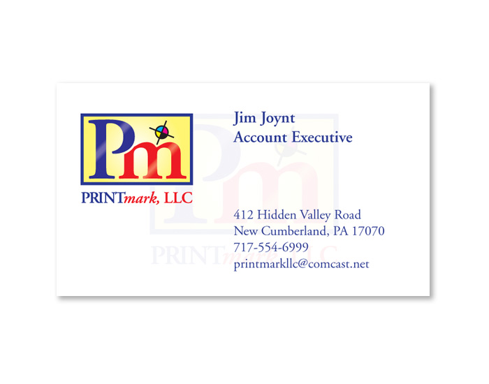 Printmark, LLC Business Card Design