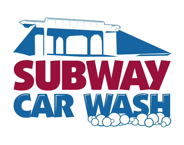 Subway Carwash Logo Design