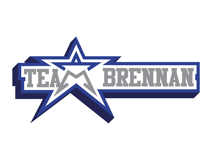Team Brennan Logo Design