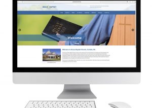 Grace Baptist Church website design