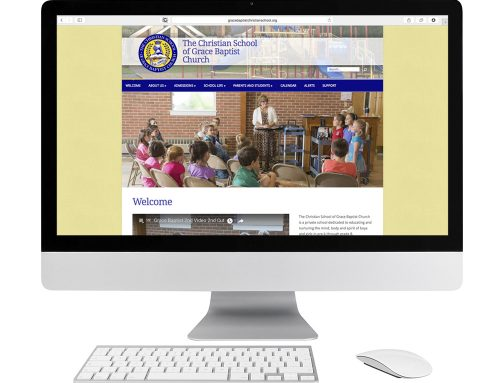 Grace Baptist Christian School Website Design