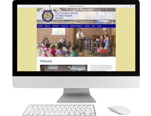 Grace Baptist Christian School Website Design