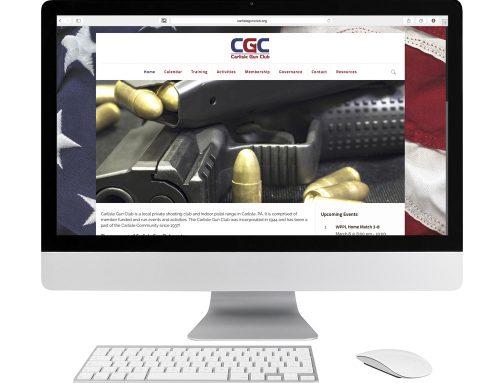 Carlisle Gun Club Website Design