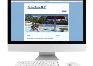 Carlisle Swim Club Website Design