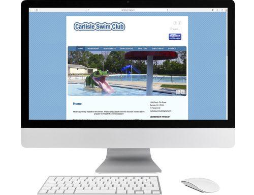 Carlisle Swim Club Website Design