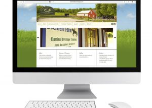 Deerfield Farm Dressage Website Design
