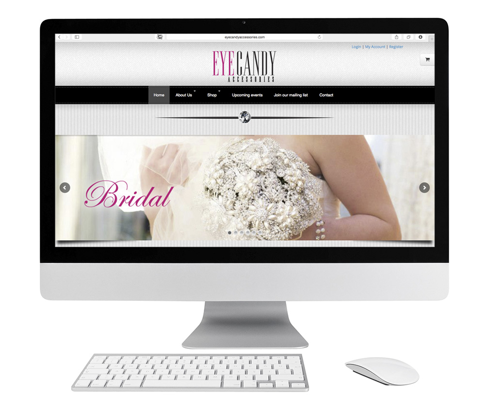Eye Candy Accessories Website Design