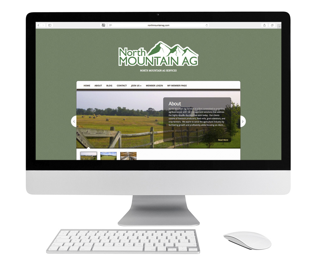 North Mountain Ag Services Website Design