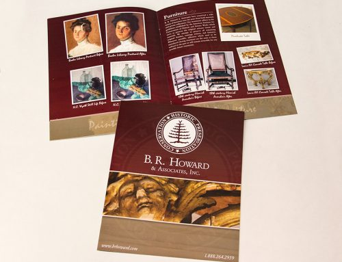B.R. Howard & Associates Brochure Design