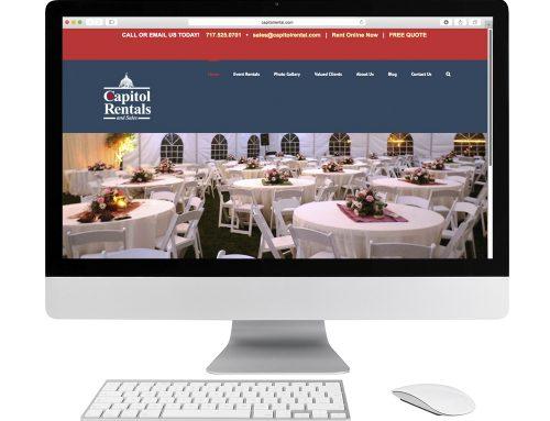 Capitol Rentals Website